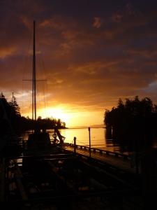 Pedder Bay sunrise1