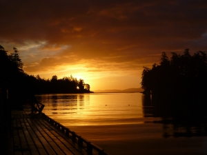 Pedder Bay sunrise2