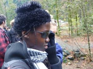 Awa in glasses