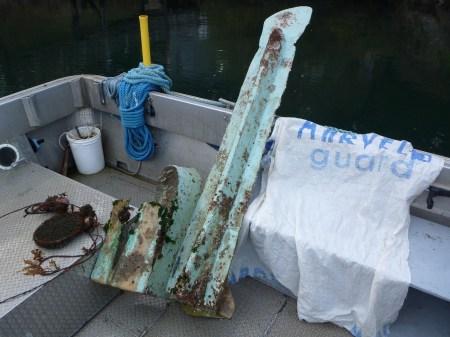 Underwater debris