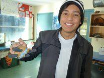 Jaime & his sea turtle