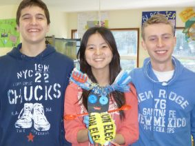 Stefan, XueMeng, Martin & their minion