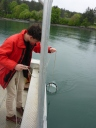 Karel sampling plankton diversity